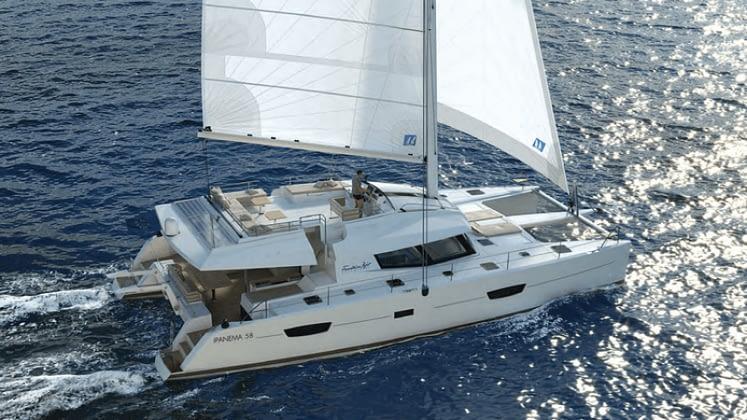 all inclusive luxury yacht charter aboard fountaine pajot ipanema 58 catamaran