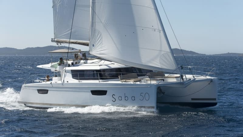 Saba 50 Bareboat Charter in the BVI and Other Exotic Locales