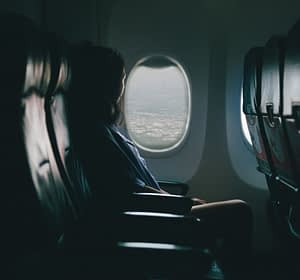 An Uncrowded Airplane